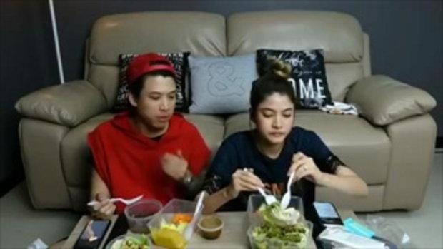 มาร์กี้ - ป๊อก liveสด ทานข้าวไปคุยกับแฟนคลับไปด้วย คู่นี้น่ารักมีความหวานเบาๆ