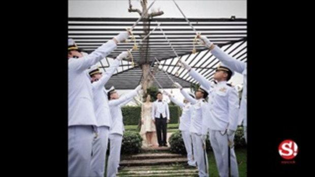 กุญแจซอล ป่านทอทอง โพสต์ภาพครบรอบแต่งงาน 1 ปี