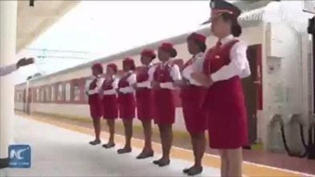 จาก 3 วัน เหลือ 12 ชม. ชาวเอธิโอเปียประทับใจเส้นทางรถไฟสร้างโดยฝีมือจีน