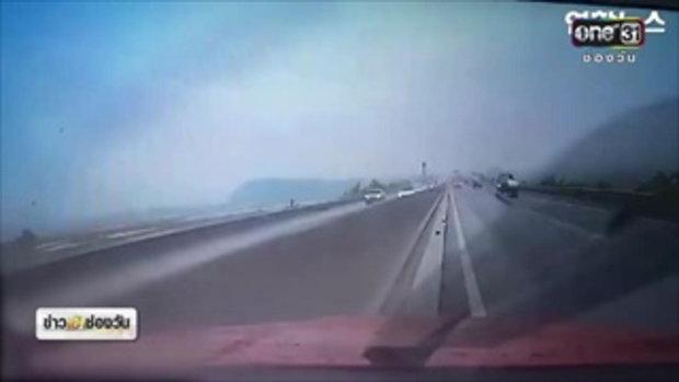 ข่าวเช้าช่องวัน | ชื่นชมหนุ่มเกาหลี ตั้งใจขับรถชนสกัดอุบัติเหตุ | ข่าวช่องวัน | ช่อง one31