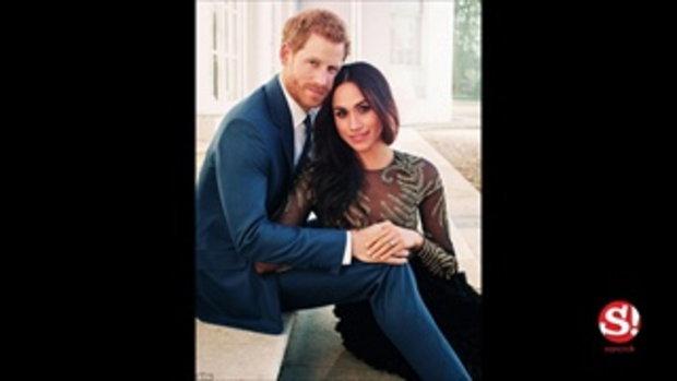 เผยการ์ดแต่งงานและธีมชุดสุดหรูของเจ้าชายแฮร์รี่ และเมแกน มาร์เคิล