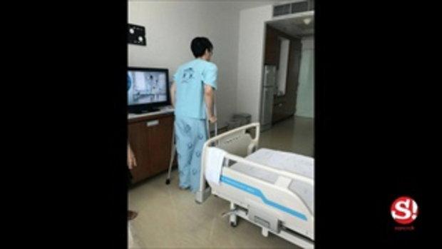 ฟลุค จิระ ผิดคิวกลางกองละครเวที เอ็นหัวเข่าขาด พัก 6 เดือน กระทบแพลนมีลูก