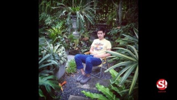 """นี่ป่าหรือบ้าน เปิดสวนป่าร่มรื่น """"บ้านฟรอยด์ ณัฏฐพงษ์"""" ผู้ชายสายเขียว อารมณ์ดี"""