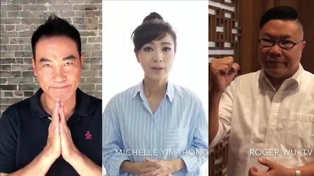 3 นักแสดงฮ่องกง ส่งกำลังใจถึงทีมหมูป่า 13 ชีวิต