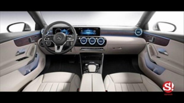 Mercedes-Benz A-Class Saloon 2018 ใหม่ เก๋งหรู 4 ประตูรุ่นเล็กสุดเผยโฉมแล้ว