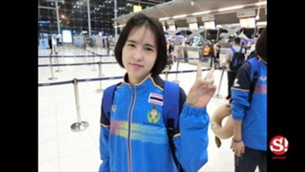 เป็นสาวแล้ว! ภาพล่าสุดของ น้องแบม นางฟ้าลูกยางไทยวัยทีน