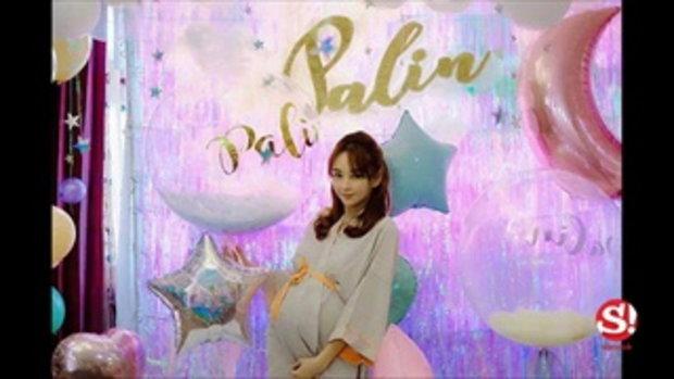 เป้ย ปานวาด คลอดลูกสาวแล้ว น้องปราน ปาลิน น่ารักน่าชังมาก