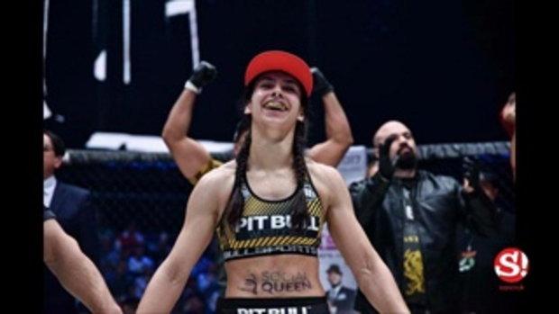 สวยประหาร! ลิปสกี้ นางฟ้าแชมป์โลก KSW ถูก UFC ซิวเข้าสังกัดเรียบร้อย
