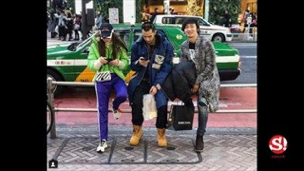 รักเราแฮปปี้ โฟร์ ควงหวานใจเด็ก ธามไท ฉลองปีใหม่ญี่ปุ่น