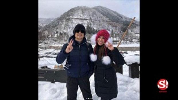 แก้ว อภิรดี หลบมุมฉลองปีใหม่ หวานเบาๆ กับคนรู้ใจที่ญี่ปุ่น