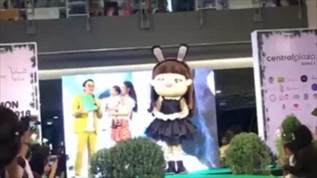 ชมความน่ารัก 'แพท-ณปภา' ควงลูกชายตัวน้อย 'เรซซิ่ง' มาร่วมเดินแบบในงาน Kid's Fashion Show 2018
