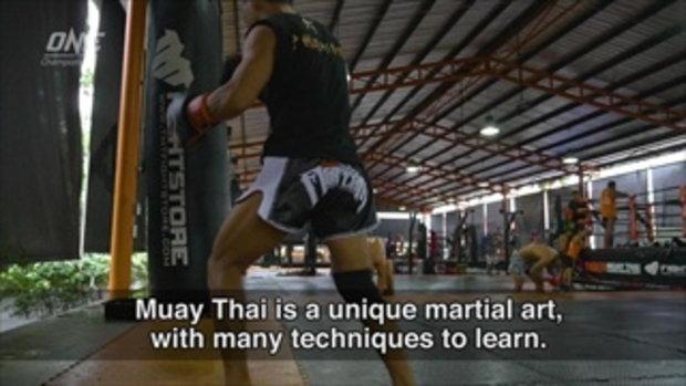 มาดู ไครัต อัคห์เมตอฟ ฝึกมวยไทย