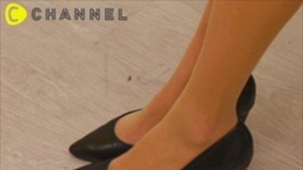 เทคนิคใส่รองเท้าคัทชูยังไงไม่ให้ลื่นหลุด