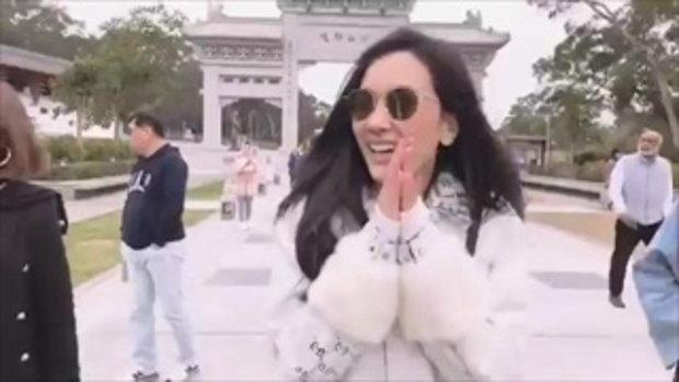 นุ่น วรนุช พาตัวแทนวอร่า เที่ยวฮ่องกง ชื่นมื่น!!!