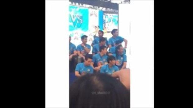 หมาก ปริญ ทีมสีน้ำเงินสายหล่อ ยิ้มหวานใจละลาย #ฟุตบอล48ปีทีวีช่อง3