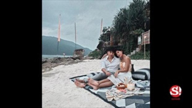 ส่องภาพหวาน สายป่าน-วุฒิ ทริปฮันนีมูนเกาะหลีเป๊ะ