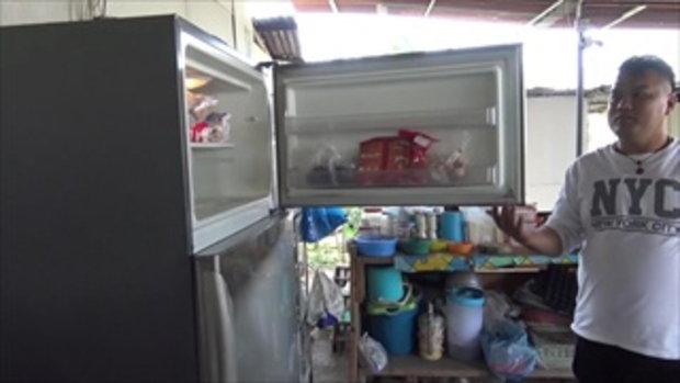 ชาวบ้านผวาผีตู้เย็น เปิดวงจรปิดดูถึงกับผงะพบเปิดออกเอง
