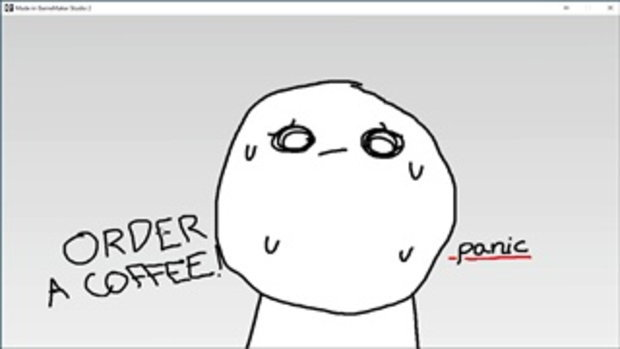 Coffee Quest - ยืนงงในร้านกาแฟ - MarK Vader Gamer