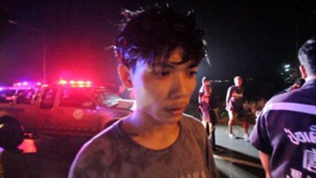 ปิกอัพฝ่าฝนกลับสุพรรณฯ เสียหลักคว่ำลงคู รอดตาย 3 พ่อลูกสังเวย 3 ศพ