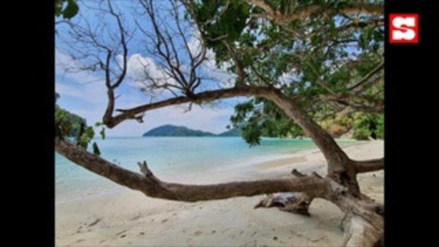เปิดภาพหมู่เกาะสุรินทร์ในวันที่ไร้ผู้คน ชายหาดสวยงามราวสวรรค์กลางทะเล