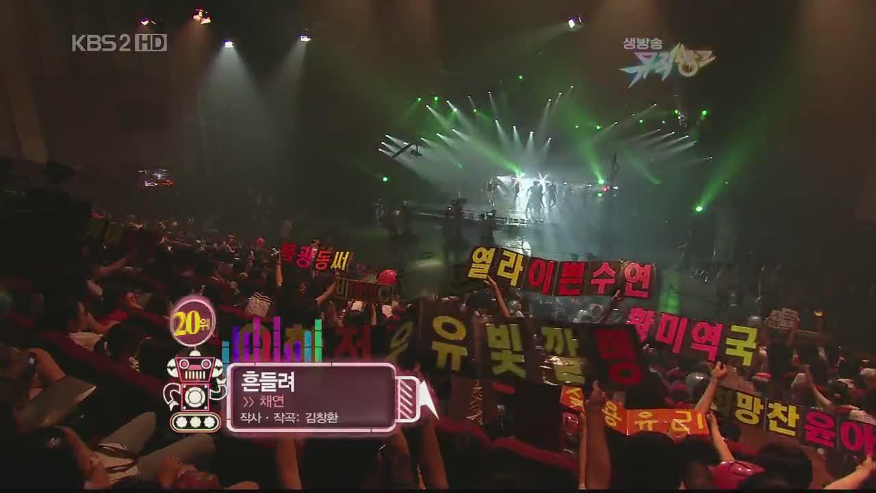 Chae Yeon - Shake @ Music Bank [HD]