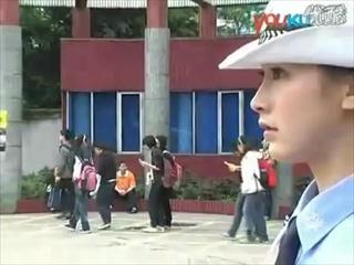 ตำรวจหญิงสุดสวยของจีน