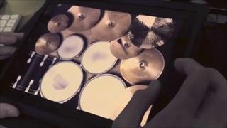 เจ๋ง ตีกลอง บนiPad Drum Meister อย่างเทพ