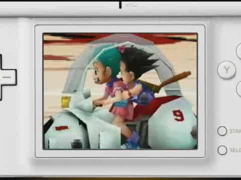 เกมส์ Dragon Ball DS