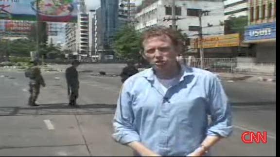 ภาพข่าวม็อบเสื้อแดงที่ถูกนำเสนอต่อสายตาชาวโลก
