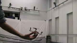 A Swarm of Nano Quadrotors  by sia.co.th