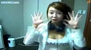 สาวเซ็กซี่เกาหลี เซ็กซี่แด๊นออนเว็บแคม โอ้ แม่เจ้าาา18+