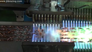 8¢6line condenser chiller brazing