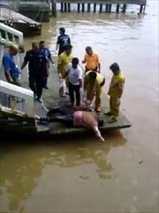 พบศพแล้ว! 2ผัวเมียโดดจากสะพานกรุงเทพฯ
