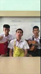 """นักเรียนประชดรัก แต่งเพลง """"ซังวาเลนไทน์"""" เนื้อหาโดนใจคนโสด ฮากระจายแบบนกๆ"""