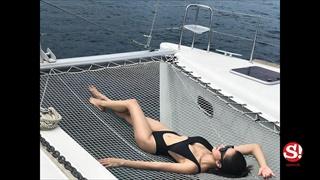 """เปิดความเซ็กซี่ """"ไอซ์ อภิษฎา"""" กับหลากชุดว่ายน้ำสุดซี้ด"""
