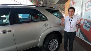 Toyota Fortuner 3.0 (ปี 2012) รถSUV ที่อึด ทน นาน กว่าสามีที่บ้าน