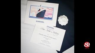 เรือ Chanel เทียบท่าแม่น้ำเจ้าพระยา เซเลบไทยและเทศเข้าร่วมงานคับคั่ง