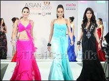 แฟชั่นโชว์ เวที Asian Supermodel 2009