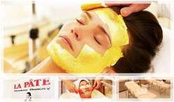 ที่สุดแห่งความงาม Gold  Facial Treatment ที่ LA PATE