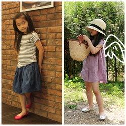 แฟชั่นเสื้อผ้าเด็กสดใสต้อนรับวันเด็ก