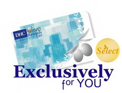 DHC Olive Rewards Select Card 2011