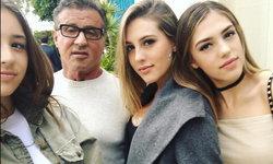 ลูกสาว 3 คนของ ซิลเวสเตอร์ สตอลโลน สวยแซ่บระดับนางแบบ