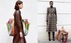 กระเป๋าสายรุ้ง หรือ กระเป๋า Balenciaga วางขายแล้ว ราคาเกือบแสน!