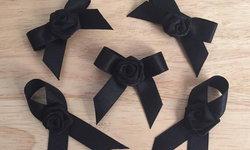 6 ไอเดีย ทำริบบิ้นสีดำ ไว้ทุกข์ แบบง่ายๆ