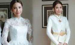 งามอย่างไทย หญิงแม้น กับ 2 ชุดแต่งงานแบบไทยแท้ ที่สวยสง่ามากๆ