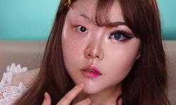 สาวเกาหลี แต่งหน้าเก่งขั้นเทพ ก่อนแต่ง หลังแต่ง ต่างกันมาก