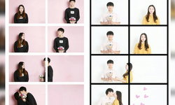 """สุดฮิต """"คนละเฟรมเดียวกัน"""" เทรนด์ถ่ายรูปคู่รักแนวใหม่ สไตล์เกาหลี"""