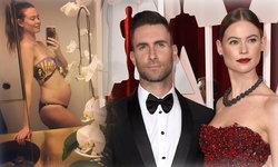 เอ้า เฮ!!! นางแบบสาวภรรยา Adam Levine ประกาศตั้งครรภ์ลูกคนที่ 2