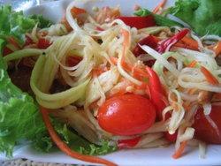 'ส้มตำไทย' อาหารไทยแสนง่ายสำหรับสาวอยากหุ่นสวย