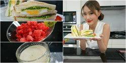 คลับแซนด์วิชหอมกรุ่นกว่าเคย เพราะวันนี้ชุ้งชิ้งทำขนมปังเองกับมือจร้า ง่าย!!! ใครๆก็ทำได้ จีจีนะ!